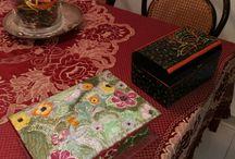 creazioni idee regalo / cofanetti scrigni e bauli decorati a mano
