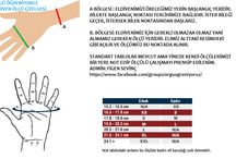 eldiven ölçü çizelgesi