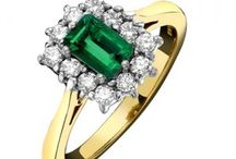 Emerald Jewellery - May birthstone / A collection of stunning emerald jewellery from Macintyres of Edinburgh.
