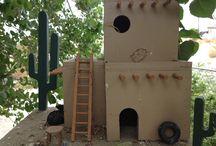 Estou fazendo.birdhouses