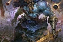 Warcasters/Dark Knights/BattleMages