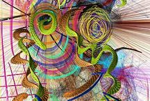 Abstract Creations. / Abstract Art.