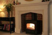 Fireplaces / by Emma Drew