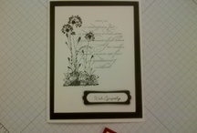 Stampin Up Sympathy cards I like