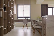 WERKPLEK ✖ / Inspiratie voor de inrichting van een werkplek of kantoor.   makeover.nl/inspiratie/inrichting/kantoor