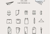 # P A C K A G I N G / B&W / Dans ce tableau retrouvez des idées de packaging noir sur blanc.