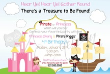 cumple de piratas y princesas
