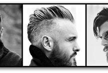 Cortes de pelo para hombre / Cortes de pelo para hombre en 2018. Moda hombres y cuidados para le pelo largo