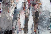 Figurative Art by Julie Schumer / figurative work on paper I have created