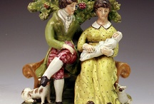 Staffordshire Pottery / by Mary Sue Scott