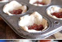 Muffin tin food.
