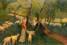 Ernest Bieler / The art of Swiss painter Ernest Bieler.
