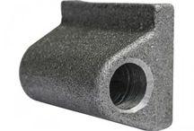 Cerniere per Sponde / Cerniere e Perni in alluminio, inox, zincate e grezze per autocarri commerciali, tir e cassoni con sponde ribaltabili.