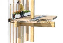 hybrid-timber structure