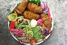 high carb vegan food