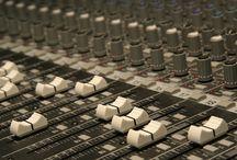 Professional Audio Equipment / Attrezzatura audio professionale