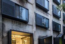 Fachadas hotéis