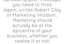 Marketing Wisdom / by Marcia Macomber