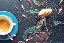Рисунки Синтии Болоньезе