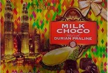 Шоколад, Трюфели, Тирамису из Малайзии. С Дурианом, Манго и др.