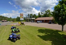 Clam Lake Businesses / Clam Lake, Wisconsin has bars & restaurants for dining options, a convenience store/gas station, plenty of lodging and more to offer a comfortable visit to Wisconsin's Northwoods! / by Clam Lake Property Management LLC