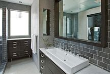 got dirt? / i hate our bathrooms.  there I said it.  i want mine to look like one of these.   / by barbara paulsen