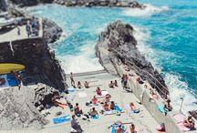 Italy Beach Photography / Italy Beach Photography, Aerial Beach Prints, Positano Prints, Cinque Terre Prints. https://www.etsy.com/au/shop/ItBeganInParis