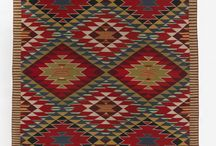 That rug really tied the room together... / Here are some amazing woven works that will make you wish your local home goods store had a Nelson-Atkins-inspired collection!