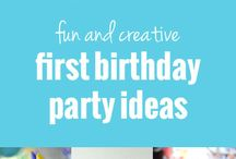 First birthday ideas / First birthday