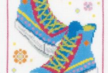 SHOES *CROSS STITCH-EMBROIDERY