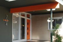Doors Mid Century Modern /  Secret Design Studio is a design-focused building consultancy, based in Melbourne, Australia. We are passionate about quality residential design. We collect 20th Century chairs. We champion mid century modern architecture with an irregular blog. Follow us on https://www.facebook.com/SecretDesignStudio or twitter @Secret_Design. www.secretdesignstudio.com / by Secret Design