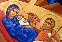 Narodzenie, Egipt / Icons