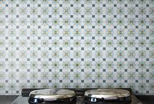 ENCAUSTIC TILES / Encaustic tiles are currently enjoying a revival. Extremely beautiful and vibrant, featuring varied and numerous exquisite geometric designs, encaustic tiles are a stylish way to introduce colour and pattern into your interior. Encaustic tiles are made following ancient techniques, utilising different colours of clay, as opposed to coloured glazes. They are produced by hand and are tremendously labour intensive.