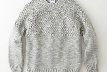 Sweater Series / Ideas for designing your own sweater. Choose elements from different sweaters that you like to make it uniquely your own.