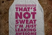 Workout t's / by Amber Musial Smith