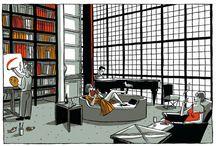 architecture and comics