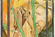 Mucha, Mucha-esque / by Theresa DiNapoli