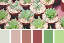 farebné kombinácie (color combinations) / farby pekne spolu zladené