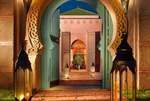 Moroccan Entrance and doors