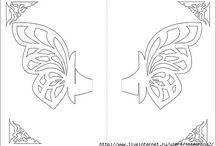 Pappersskärning , kirigami