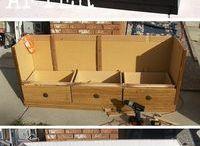Lav nye møbler af gamle møbler/kasser og lignende