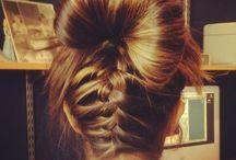 Loose hair style / Hair stylish