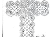 Кружево крест