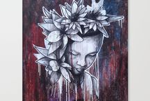 Flower Of Beauty Merchandise, Society6