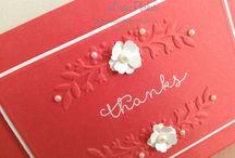 Stampin Up-Floral Affection Embossing Folder