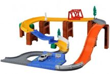 Toy cars, trains, mini worlds
