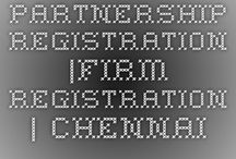 Partnership Firm Registration in Chennai