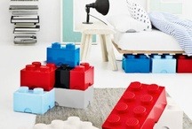 Ideas for Ian's Lego room / by Kim Brinker