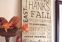 Fall Ideas / by Carrie Derr