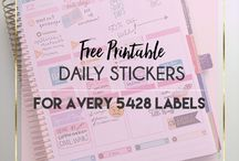 Printables / Printable labels, ideas, and designs.
